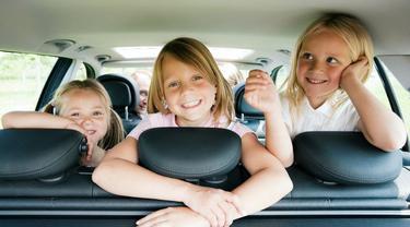 Riset: Berkendara dengan Anak Buat Waktu Perjalanan Lebih Lama