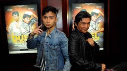 Film Duel The Last Choice menampilkan kolaborasi akting laga Leon Dozan dan Willy Dozan, Jakarta, (15/9/14). (Liputan6.com/Faisal R Syam)