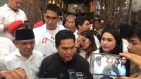 Erick Tohir: Jokowi Pemimpin yang Siap untuk Perubahan Kaum Milenial Era Revolusi 4.0  (FOTO: Liputan6.com/Reza Perdana)