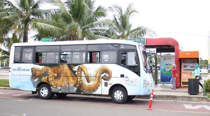 100 Bus Wara Wiri siap beroperasi selama libur lebaran.