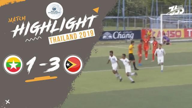 Berita video Timor Leste kembali meraih kemenangan di Grup A Piala AFF U-15 2019 setelah mengalahkan Myanmar 3-1, Senin (29/7/2019). Kemenangan kedua tersebut juga sama diraih oleh Timnas Indonesia.