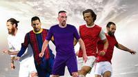 Ilustrasi - Starting XI Pemain Bebas Transfer (Bola.com/Adreanus Titus)