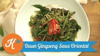 Ingin menyajikan resep sayur praktis bergaya oriental? Yuk kita simak tutorial masak berikut ini. (Foto: Kokiku Tv)