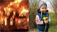 Rumah yang terbakar dan korban (Sumber: newsandsentinel/worldofbuzz)