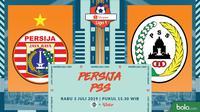 Shopee Liga 1 - Persija Jakarta Vs PSS Sleman (Bola.com/Adreanus Titus)