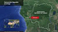 Peta Kongo. (Google Maps)