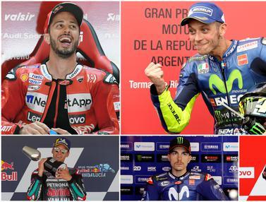 Klasemen Sementara MotoGP 2020, Dovizioso Depak Quartararo dari Posisi Puncak