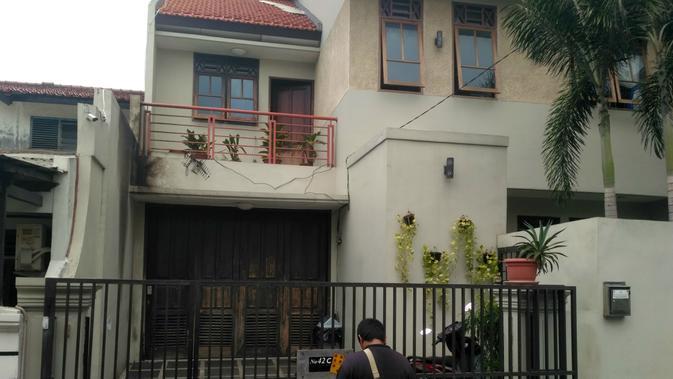 Rumah Wakil Ketua KPK Laode M Syarif menjadi sasaran teror. (Merdeka.com/Ronald)