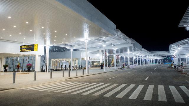 Terminal Baru Bandara Ahmad Yani Di Semarang Jawa Tengah Dok Ap I