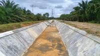 Kementerian PUPR menargetkan bisa pembangunan 500 ribu hektare irigasi dan merehabilitasi 2,5 juta hektare jaringan irigasi hingga 2024. (Dok Kementerian PUPR)