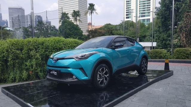 Toyota C-HR hybrid (Arief A/Liputan6.com)