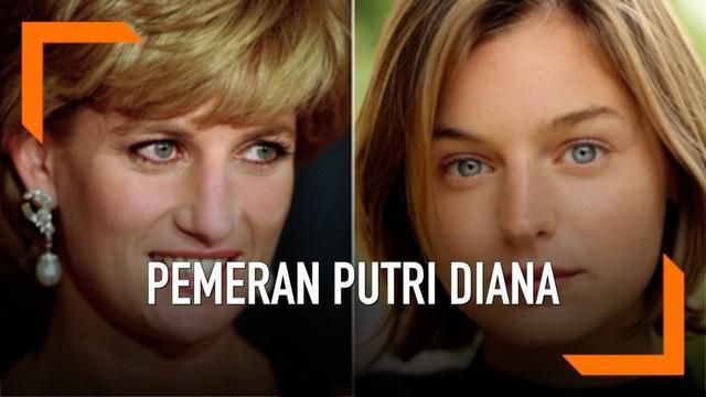 Seorang aktris cantik bernama Emma Corrin akan memerankan karakter Putri Diana dalam serial televisi The Crown. Ia terpilih karena memiliki paras yang mirip Putri Diana saat masih muda.