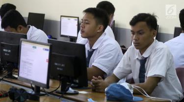Pelaksanaan UNBK SMK di Jakarta