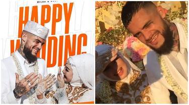 Sah Jadi Istri, Ini Momen Pernikahan Diego Michiels dan Dhea Ananda