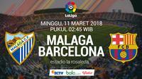 La Liga_Malaga Vs Barcelona (Bola.com/Adreanus Titus)