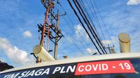 PLN memastikan pasokan listrik di RS Covid-19 Jatim aman. (Dian Kurniawan/Liputan6.com)