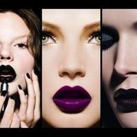 ilustrasi lipstik gelap. (via: istimewa)