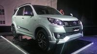 PT Toyota-Astra Motor (TAM) resmi meluncurkan New Rush. Banderol yang ditetapkan naik Rp 7 juta.