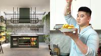 Potret Penampakan Dapur Baru Chef Arnold, Bernuansa Hijau dan Elegan. (Sumber: Instagram/arnoldpo)