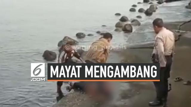 Selasa (3/9/2019) sekitar pukul 06.15 WIB ditemukan jasad pria mengambang di pantai Mutiara, Jakarta Utara. Korban diduga tenggelam karena terpeleset dan terbentu batu, karena tidak ditemukan tanda-tanda penganiayaan.