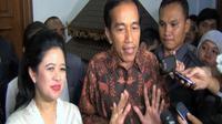 Joko Widodo membantah dengan tegas isu pengusiran dirinya oleh Puan  Maharani pada 9 April 2014.