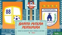 Shopee Liga 1 - Barito Putera Vs Persipura Jayapura (Bola.com/Adreanus Titus)