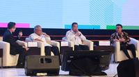 Menteri Dalam Negeri Tjahjo Kumolo menjelaskan posisi Pemerintah Pusat dalam Program strategis di daerah saat menghadiri kegiatan Musyawarah Perencanaan Pembangunan Nasional (Musrenbangnas) 2019 di Shangri-La Hotel, Jakarta, Kamis (09/05/2019).