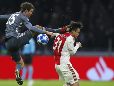 Gelandang Bayern Munchen, Thomas Mueller,