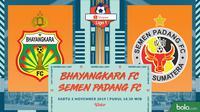Shopee Liga 1 - Bhayangkara FC Vs Semen Padang FC (Bola.com/Adreanus Titus)