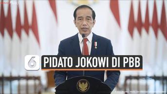 VIDEO: Pidato Jokowi di PBB, Kesiapan Pimpin G-20 Hingga Kekhawatiran Kekerasan di Afghanistan