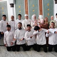 Rencananya, setelah melangsungkan akad nikah, Tommy dan Lisya juga akan langsung menggelar resepsi pernikahan di sebuah hotel di Banda Aceh. (Foto: instagram.com/sahrulgunawanofficial)