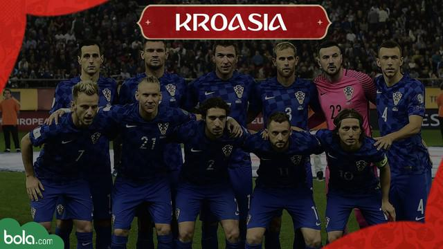 Berita Video Profil Tim Piala Dunia 2018, Kroasia