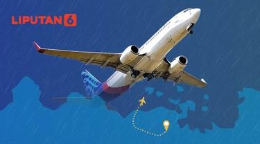 Banner Infografis Pesawat Sriwijaya Air Jatuh. (Liputan6.com/Abdillah)