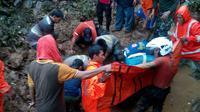 Ilustrasi Bencana Alam di Bogor. (Liputan6.com/Achmad Sudarno)