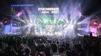 Suasana Penonton Synchronize Fest 2018.