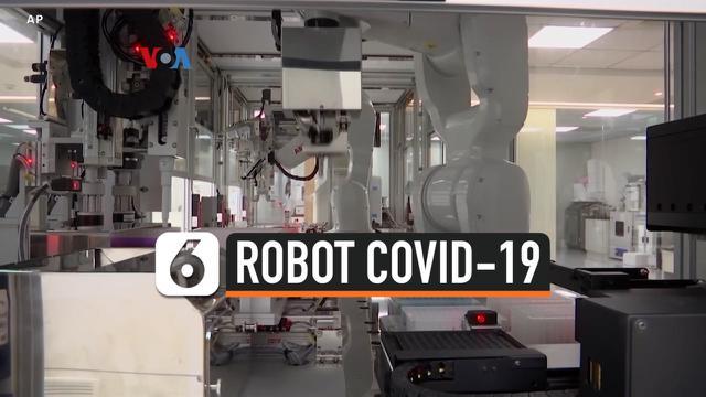 robot covid