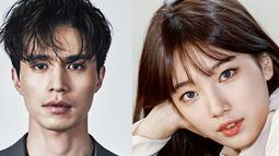 Jauh sebelum berpacaran dengan Lee Min Hoo, ternyata Suzy pernah mengaku kagum dengan sosok pemain drama Goblin itu. Bahkan dalam sebuah acara, Suzy mengaku jika Lee Dong Wook adalah pria idamannya. (Foto: allkpop.com)