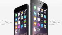iPhone 6 dan 6s Plus (Foto: Ist)