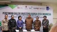 Galeri investasi di ITS Surabaya (Foto:Liputan6.com/Dian Kurniawan)
