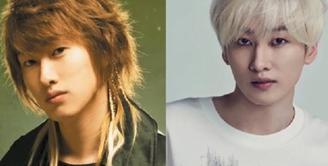 Saat Super Junior pertama kali muncul, Eunhyuk dikenal sebagai idol yang tak terlalu punya visual yang baik. Akan tetapi seiring bertambah usia, ia berubah jadi cowok yang seksi. (Foto: soompi.com)