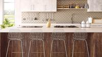 Membuat desain kitchen set perlu didasari dari ilmu ergonomik, agar dapat penggunanya merasa nyaman.