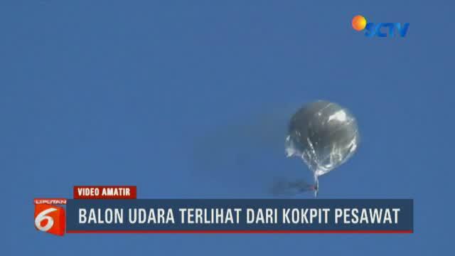 Menhub menegaskan harus ada sanksi tegas agar tidak ada lagi balon udara liar yang membahayakan penerbangan.