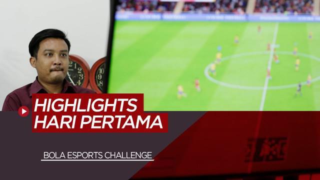 Berita Video Highlights Hari 1 BOLA Esports Challenge, The Jakmania Beradu untuk Hadapi Dua Bintang Persija Jakarta
