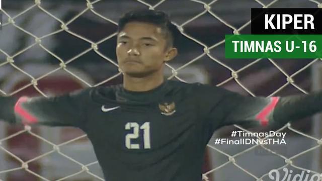Berita video aksi penyelamatan kiper Timnas Indonesia U-16, Ernando Ari, saat adu penalti melawan Thailand U-16 pada final Piala AFF U-16 2018, Sabtu (11/8/2018).