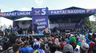 Surya Paloh Hadiri Kampanye Rapat Umum Terbuka Perdana di Gorontalo
