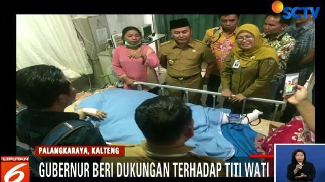 Rencananya, Titi Wati masih akan menjalani perawatan intensif selama dua minggu kedepan.