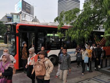 Penumpang Transjakarta Meningkat Setelah MRT Beroperasi