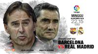 Barcelona vs Real Madrid (Liputan6.com/Abdillah)
