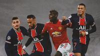 Ilustrasi - Marco Verratti, Neymar, Paul Pogba, Kylian Mbappe (Bola.com/Adreanus Titus)