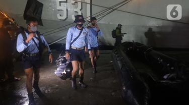 FOTO: Pesawat Sriwijaya Air SJ 182 Jatuh, Begini Kesiapan Tim Evakuasi Kopaska TNI AL